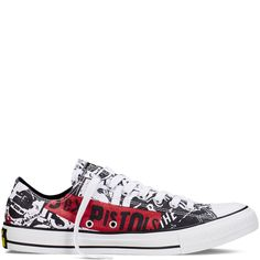 43312207fe5 Converse - Chuck Taylor All Star Sex Pistols - White - Low Top