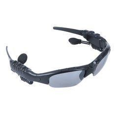 Sports Sunglasses Wireless Bluetooth Headset Headphone for iPhone Cellphone