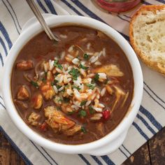 Turkey and Seafood Gumbo