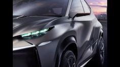 Lexus LF NX Concept Exterior Design The Lexus LF NX
