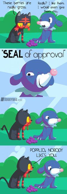 Popplio's Berries - 9GAG
