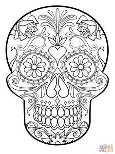 Sugar Skull | Super Coloring