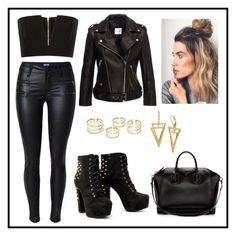 """""""Untitled #549"""" by juliatini-je on Polyvore featuring Anine Bing, Balmain and Givenchy"""