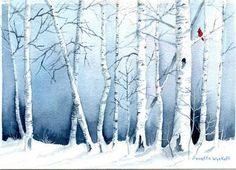 Winter Apens - Original Fine Art for Sale - © Annette Wyckoff