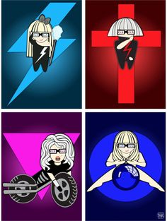 The Four Eras of Lady Gaga
