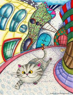 有多久沒出去走走了呢?我好像窩在原地好久好久了... 在異國的小巷內,看見互相追逐的小貓,也可以成為一輩子的記憶。這就是旅行的奇妙之處吧,看到的任何事物,即使是再平常不過的小插曲,都能變得好特別好深刻:)