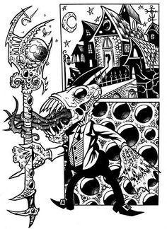 Innsmouth 1923 by Eric York, ~Tillinghast23 on deviantART