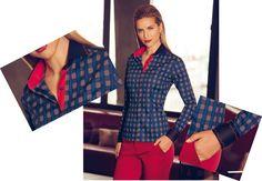 Dudalina Feminina - camisas para mulheres que decidem 65 3308 4200 #casualdenovamutum