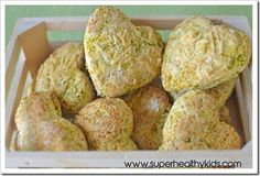 Broccoli and carrot biscuits!