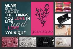Glam is all about the things you love in life... and I LOVE YOUNIQUE!