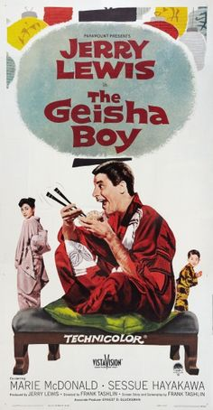 The Geisha Boy, Jerry Lewis - Schmeltzer Lindsey I think this is my favorite Jerry Lewis film. I watched it so many times when I was younger. Movies For Boys, Old Movies, Vintage Movies, Great Movies, Famous Movies, Jerry Lewis, Funny Movies, Comedy Movies, Love Movie