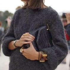 Fluffy knit sweater n jewelries @its.all.about.style #jewelry #fluffy #knitwear #bracet #ring #black #totalblack #outfit #ootd #outfit #streetstyle #streetlook #fashion #style #chic #nyc #stylish #styles #tagsforlikes #tagsforlike #tagsforlikesfslc #tbt #fff #l4l #instalove #instalike #instalife #instamood #instagood #instalifo #instagram