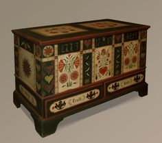 Large Antique Blanket Chest