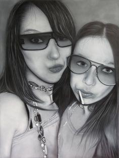 My girls airbrush leonknook.com
