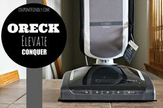 My New Oreck Vacuum – Check out the photos!
