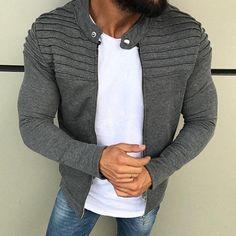 Raglan, Pullover, Streetwear, Slim Fit Jackets, Men's Jackets, Warm Jackets, Bomber Jackets, Sweater Jacket, Jacket Men