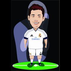 Halamadrid . Real Madrid is mu Fav team !!