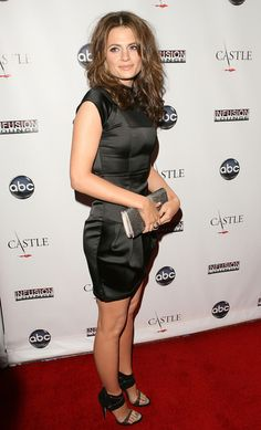 "Stana Katic   ABC's ""Castle"" Season 3 Premiere Party"