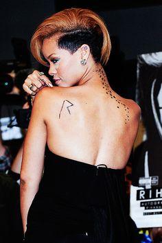 rihannas tattoos