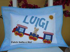 Almofada Luigi | por PATCH E CIA - Sofia e Mel