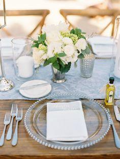 Wedding Reception, Rustic Wedding, Wedding Tables, Blue Grey Weddings, Wedding Wishes, Wedding Things, Bohemian Wedding Inspiration, Wedding Place Settings, Wedding News