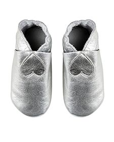 Lasten nahkatossut, hopea Hopea, Baby Shoes, Slippers, Kids, Fashion, Young Children, Moda, Boys, Fashion Styles