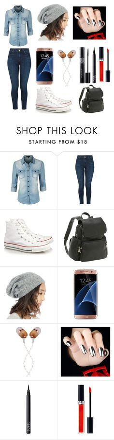 """Can't Wait To Go To BOSSE!"" by jaden-norman on Polyvore featuring LE3NO, J Brand, Converse, Le Donne, Sole Society, Samsung, The House of Marley, Christian Dior and NARS Cosmetics"