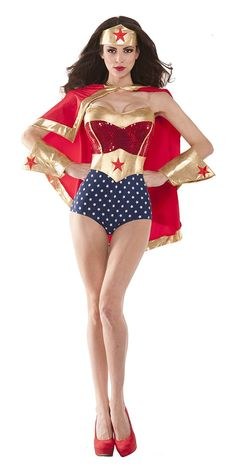 Wonder Woman Babe Sexy 4 Piece Costume Set Sexy Halloween Costumes, Up  Costumes, Halloween 526c79b68cbf