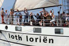 Sailing with Loth Lorien at Hanse Sail Rostock