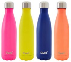 SWell-Thermo Bottles- Insulated Stainless Steel Bottle- Satin ml} Hot Chocolate Wine, Swell Water Bottle, School Lunch Box, Instagram Snap, Water Well, Educational Toys For Kids, Stainless Steel Bottle, Plastic Bottles, Water Bottles