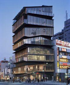 Centre culturel et touristique d'Asakusa by Kengo Kuma and Associates