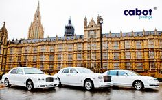 Cabot Prestige gives you a range of vehicles to choose from when deciding for your wedding car