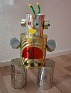 Robot - Roboter - Party - decoration - Dekoration