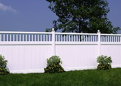 backyard fence like the look white would get too dirty looking tho would do a different color