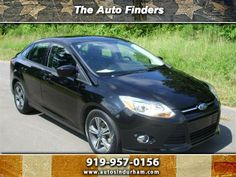 2012 Ford Focus - Used Sedan Durham NC | The Auto Finders