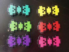 Perler bead Hair Bows by 8bitDanielle on Etsy