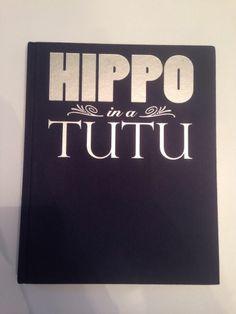 Hippo in a Tutu Dancing in Disney Animation HardBack 2008 Mindy Moff 1st Edition #ebay Free shipping