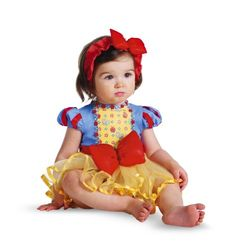 Disguise Costumes Disney Princess Snow White Prestige Infant, Yellow/Blue/Red, 6-12 Months #Disguise #Costumes #Disney #Princess #Snow #White #Prestige #Infant #Yellow_Blue_Red #6-12 #Months