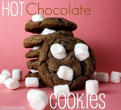 Hot Chocolate Cookies {Day 4 of 12 Days of Christmas Cookies}