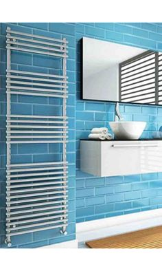 The DQ Altona Towel Radiator is a classic design with the lovely twist of a beautiful rounded look. Available in white or chrome. Bathroom Towel Radiators, Electric Radiators, Towel Warmer, Heated Towel Rail, White Towels, Modern Bathroom Design, White Cabinets, Amazing Bathrooms, Classic White
