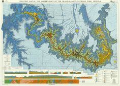 Geologic map of the eastern part of the Grand Canyon