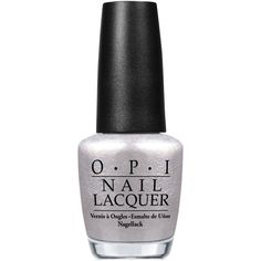 Opi Nail Lacquer Happy Anniversary! ($9.50) ❤ liked on Polyvore featuring beauty products, nail care, nail polish, nails, beauty, vernis, opi, opi nail lacquer, opi nail color and opi nail polish