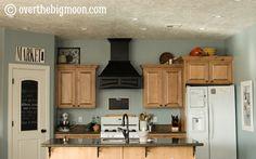 paint color Blue Arrow by Valspar For Ingrid's kitchen