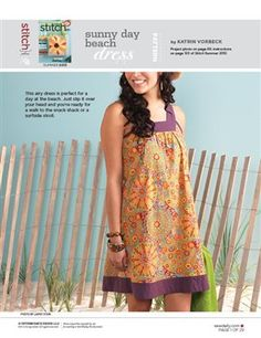 Pattern: Sunny Day Beach Dress - Media - Sew Daily