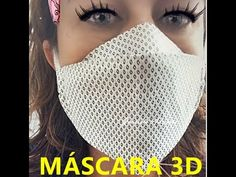 Mascara 3D super fácil tecido duplo - YouTube Sewing Patterns Free, Sewing Tutorials, Sewing Hacks, Sewing Crafts, Sewing Projects, Mascara 3d, Easy Face Masks, Diy Face Mask, Beaded Flowers Patterns