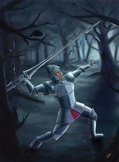 Knight by Erebus74.deviantart.com on @deviantART