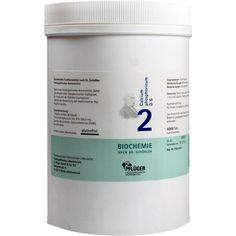 BIOCHEMIE Pflueger 2 Calcium phosphoricum D 6 Tabletten:   Packungsinhalt: 4000 St Tabletten PZN: 06318803 Hersteller: A.Pflüger GmbH &…