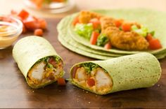 Buffalo Chicken Wraps Recipe - Kraft Canada Use Sweet Chilli Sauce instead of mayo and hot sauce