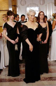 Andy Sachs (Anne Hathaway), Miranda Priestly (Meryl Streep), Emily (Emily Blunt) - El diablo viste de Prada (2006)