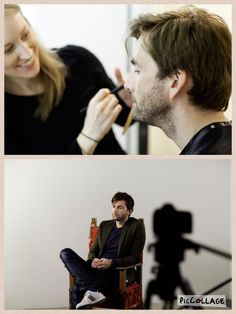 Behind the scene of photo shoot for RSC Richard II   via RSC app